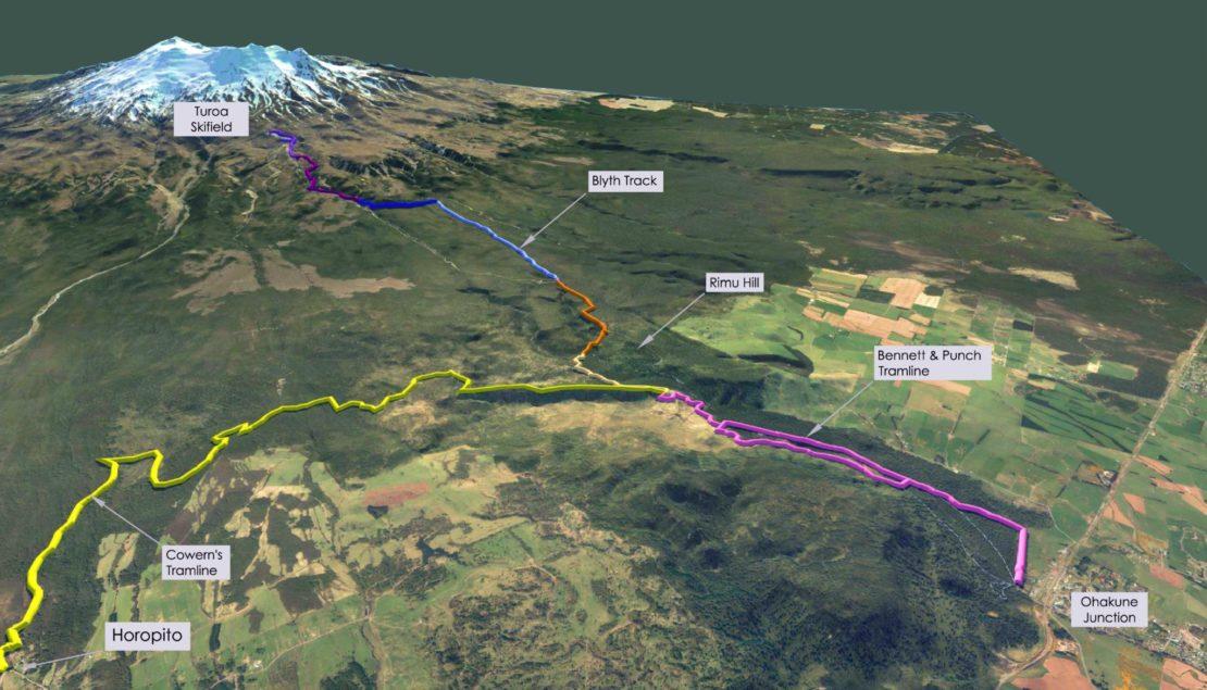 Ruapehu Te Ara Mangawhero & Horopito-Serpentine Trails