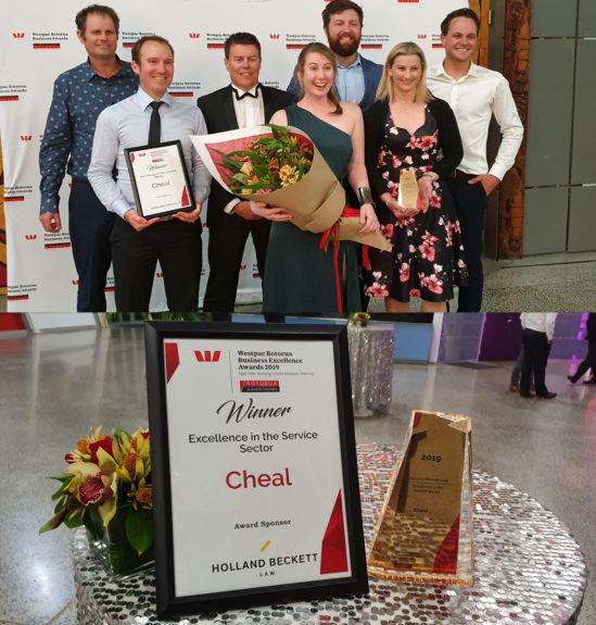 Cheal Rotorua Team